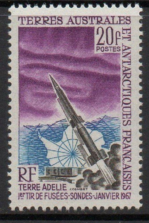 FSAT TAAF 1967 Space Rocket VF MNH (29)