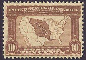 US Scott #327 Mint, VF/XF, HR