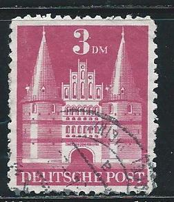 Germany 660a 1948 3m Church single Used
