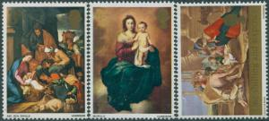 Great Britain 1967 SG756-758 QEII Christmas set MNH