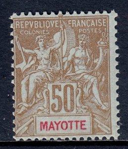 Mayotte - Scott #17 - MLH - SCV $30
