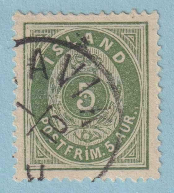 ICELAND 16  USED -  NO FAULTS EXTRA FINE!