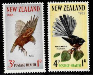New Zealand Scott B69-70 MNH** semi-postal Bird set