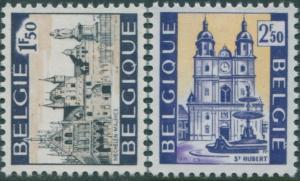 Belgium 1971 SG2250-2251 Tourist Publicity set MNH