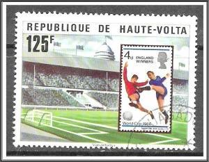 Upper Volta #458 World Cup Soccer CTO