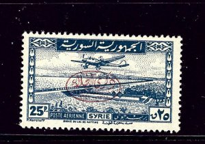 Syria C135 MNH 1942 overprint