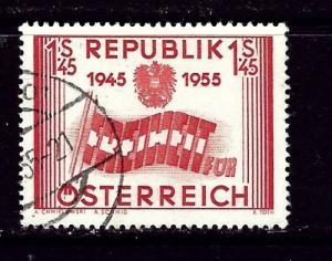 Austria 601 Used 1955 Issue