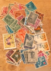 India Group of 150+ Commemorative stamps Fine to XF Used Cat. $30.00