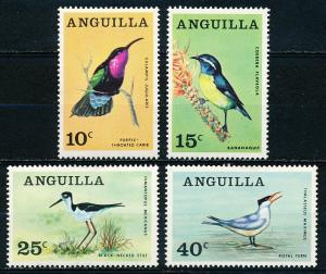 Anguilla #36-39  Set of 4 MH