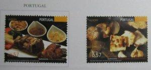Portugal 2005 Europa CEPT Gastronomy MNH** Ful Set A19P5F273