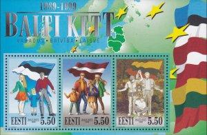Estonia 1999 #367 MNH. Baltics, freedom