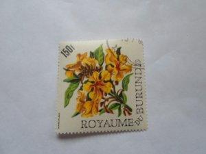 burundi stamp cto og mint hinged. # 3