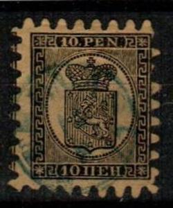 Finland Scott 8a Used (Catalog Value $450.00)