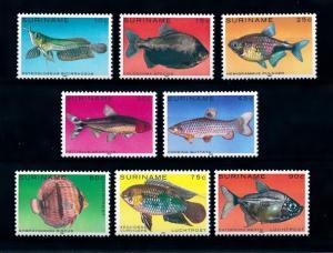 [SOLD] [95872] Surinam 1980 Marine Life Tropical Fish  MNH