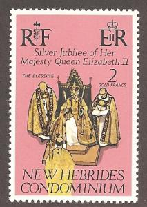 New Hebrides (British) 216 Mint VF NH