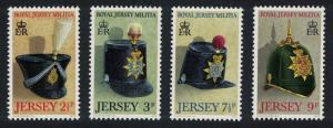 Jersey Royal Jersey Militia 1st Series 4v SG#77-80 MI#69-72
