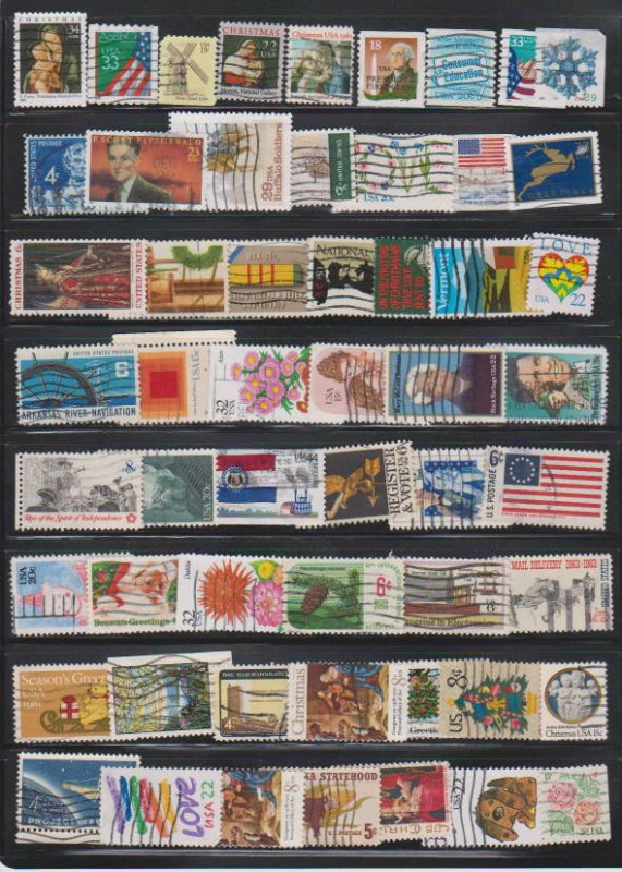 LOT OF DIFFERENT STAMPS OF USA USED (55) LOT#US275