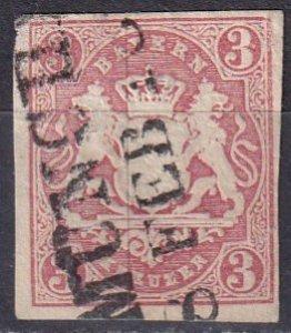 Bavaria #16 F-VF Used  (Z7075)