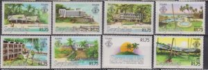 1982 Seychelles # 495-502 MNH Flying Tourism