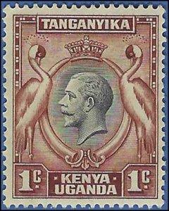 Kenya,Uganda and Tanganyika #46 1935 Mint H Dark Disturbed Gum