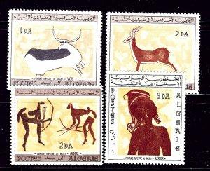 Algeria 365-68 MNH 1967 Wall Paintings   #2