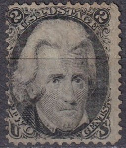 US #73  F-VF Used  CV $55.00  (Z1967)