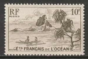 French Polynesia 1948 Sc 175 MNH**