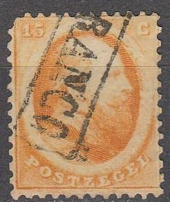 Netherlands #6  F-VF Used CV $100.00 (S799)