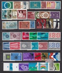 NETHERLANDS ^^^^#413//509  MNH& MH  collection  $ 48.00@c lar 1816nl6