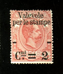 Italy #60 MINT Ave-fine Regummed Cat $55