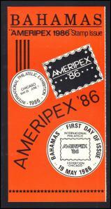 Event Booklet Order Form Bahamas AMERIPEX '86 BoxCV0337