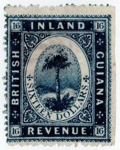 (I.B) British Guiana Revenue : Inland Revenue $16
