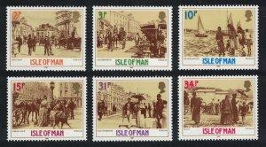 Isle of Man Victorian Douglas 6v SG#334-339