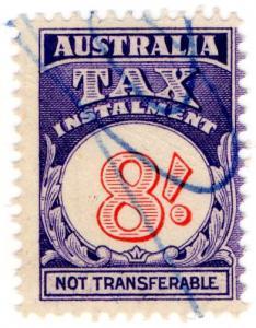 (I.B) Australia Revenue : Tax Instalment 8/-