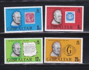 Gibraltar 378-381 Set MNH Roland Hill