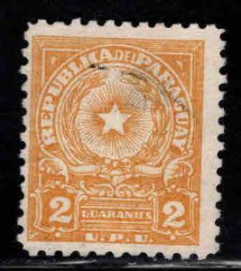 Paraguay Scott 529A MH* coat of arms stamp