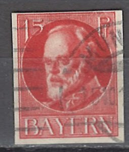 COLLECTION LOT OF #1216 BAVARIA # 122 1916 CV = $14.50
