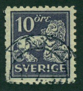 Sweden 1925 #128 U SCV (2018) = $0.85