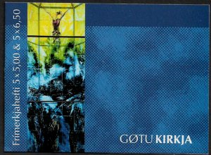 Faroe Is #425a MNH Complete Booklet - Gota Church