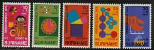 Surinam B187-B191 Mint VF NH