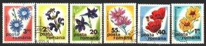 Romania. 1975. 3285-90. Flowers, flora. USED.