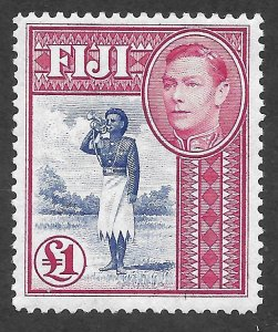 Doyle's_Stamps: Mint Fiji Scott #131B* H/OG King George VI
