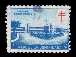 DOMINICAN REPUBLIC. SCOTT # RA9. YEAR 1949. USED.