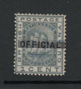 British Guiana, Sc 90 (SG 139), MHR, part OG