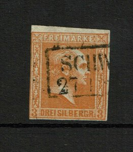 Prussia SC# 8, Used, tiny upper corner crease - S8666