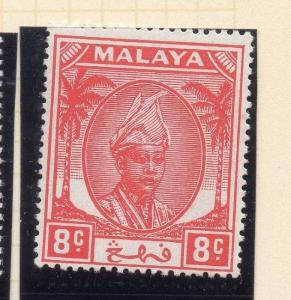 Penang Malaya 1950 Early Issue Fine Mint Hinged 8c. 029733
