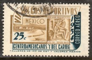 MEXICO C222, 25c 7th Central Am & Caribb Games. Used (1052)