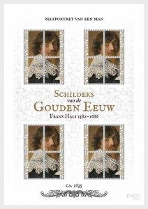Stamps Caribbean Netherlands 2019. - Dutch of Golden Age - Frans Hals - Sheets