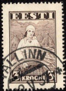 Estonia Scott 116 Used.