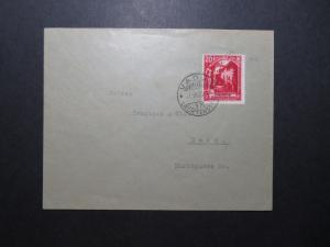Liechtenstein SC# 97 on 1933 Cover to Bern / Single Franking - Z11847